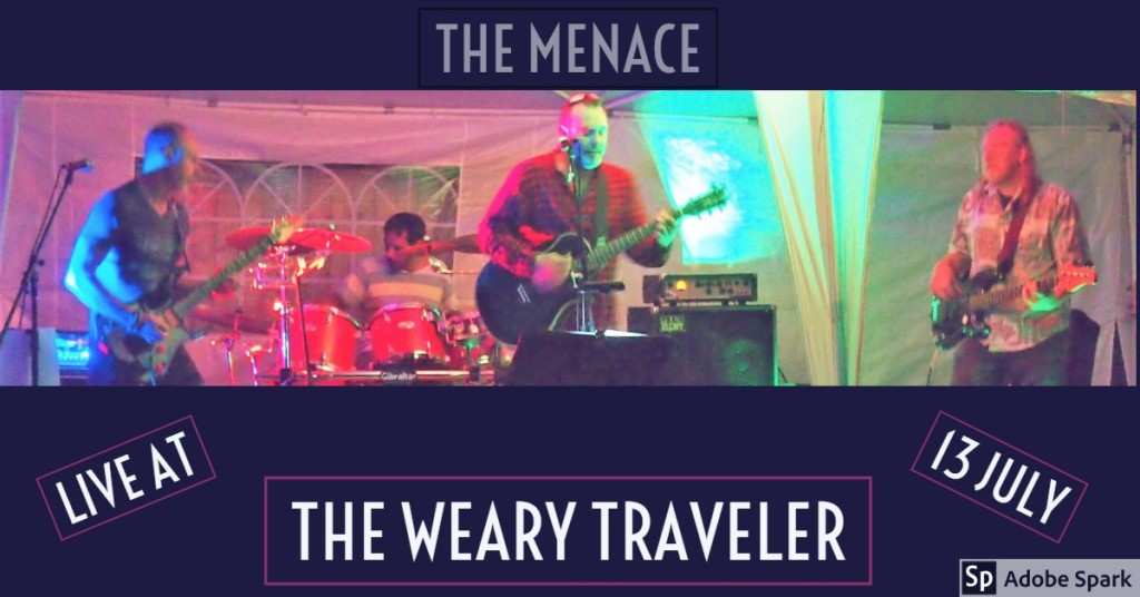 The Menace live at The Weary Traveller