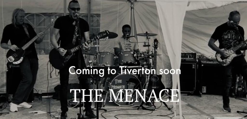 The Menace live at The White Horse Inn - Tiverton
